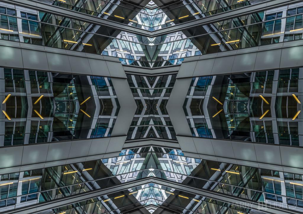 Architectural reflections (Mandala-HH3-150922-6724F-Edit)