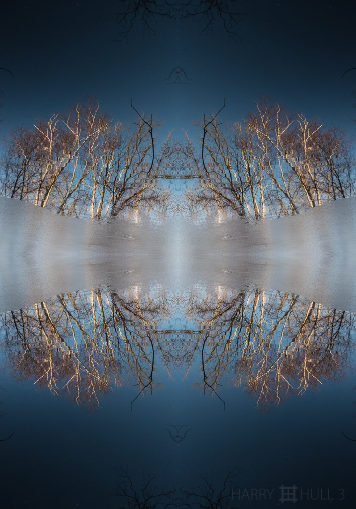 Reflections in thaw time (Mandala-HH3_160306_7196F-Edit)