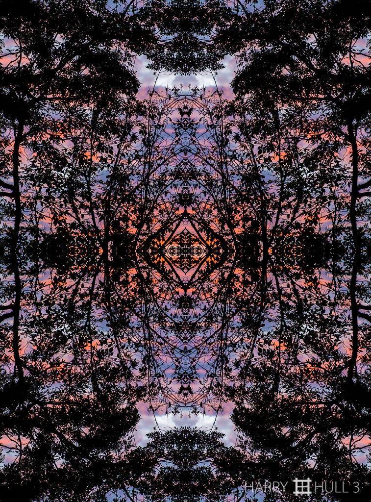 Sunset silhouette (mandala-hh3_161231_0957f-edit)